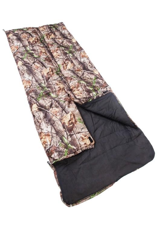 Купить Спальный мешок (одеяло) с подголовником Saimaa Comfort 200 Камуфляж, +5/+20С СП2КамXXL в России