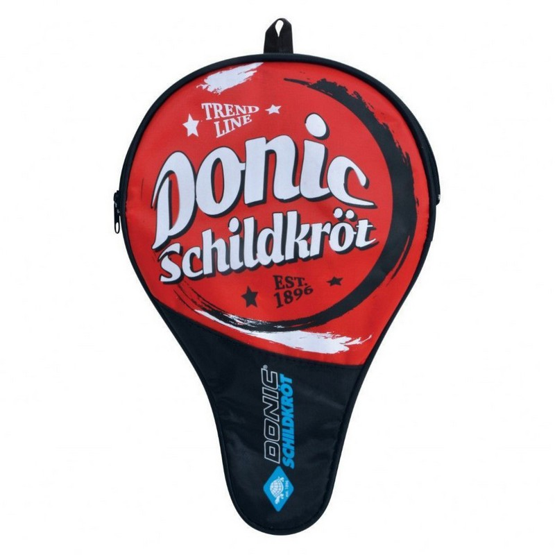 Купить Чехол для ракетки настольного тенниса Donic Trendline красныйчерный,