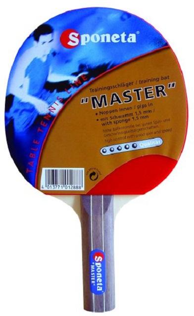Ракетка для настольного тенниса Sponeta Master 5 ракетка для настольного тенниса torres profi 5 tt0009