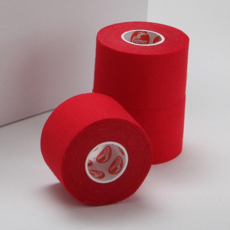 Тейп спортивный Cramer Team Colors Tape 32шт, красный kinexib спортивный тейп kinexib sport 9 1 м