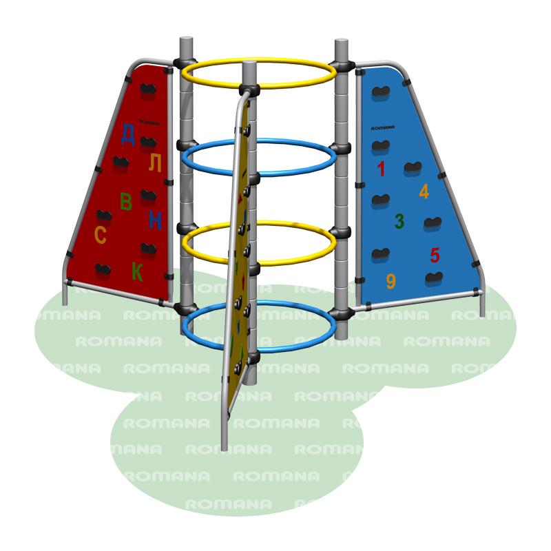 Купить Игровое оборудование Romana 401.13.00, Детские спортивные комплексы, площадки