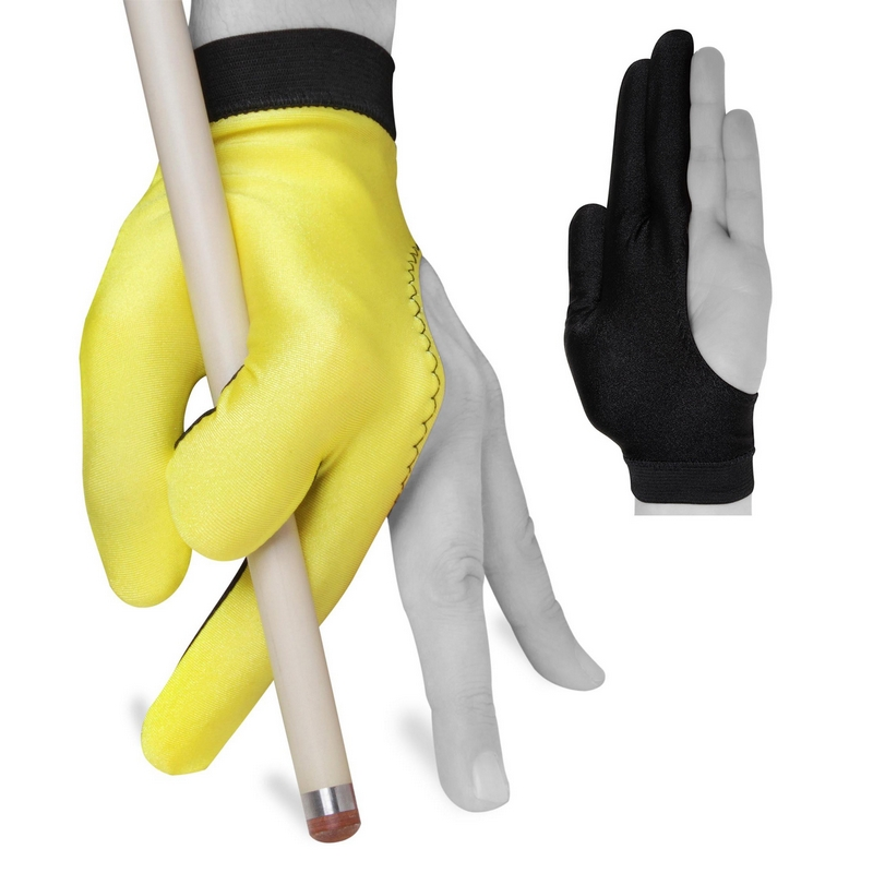 Перчатка Fortuna Classic желтая/черная