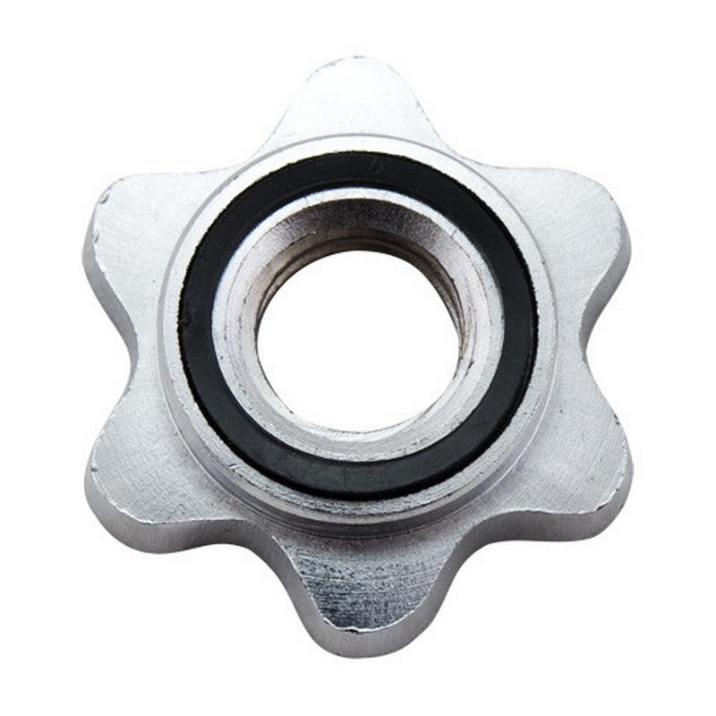 Замок-гайка Torres PL50530, d30 мм, сталь, с резиновой прокладкой, хром