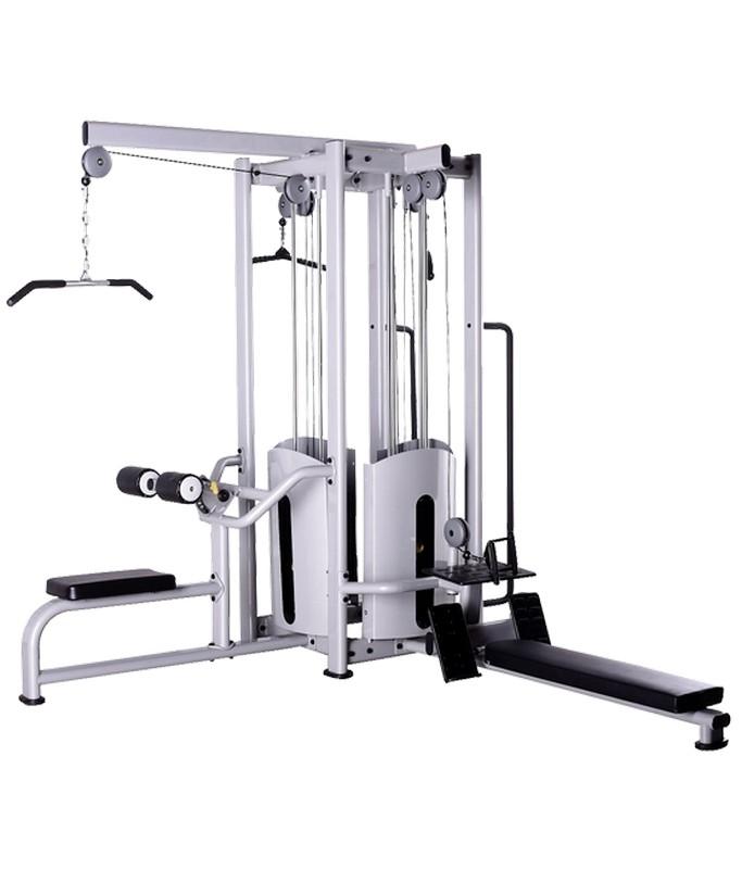Купить Мультистанция 4-ех позиционнная Bronze Gym BS-8848 черный,