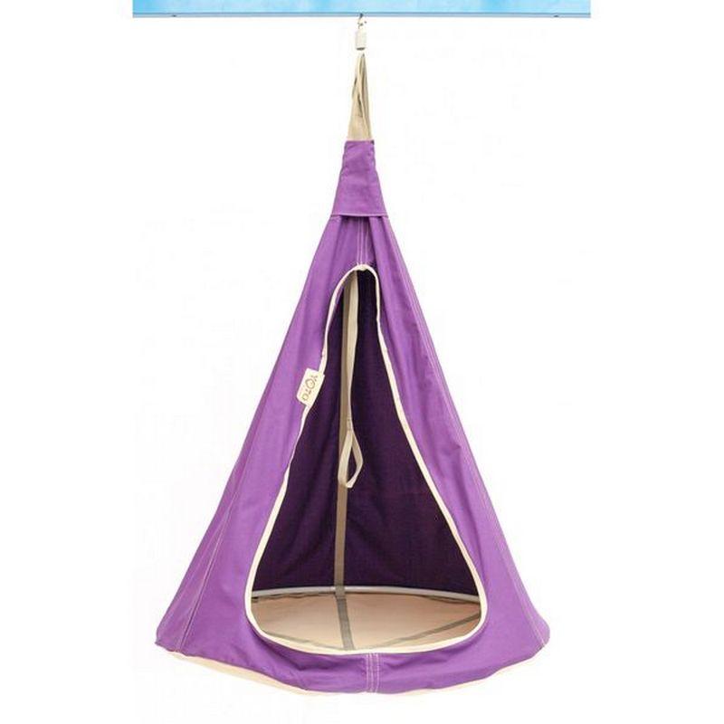 Гамак Kettler Kett-Up подвесной диаметр 110 см сиреневый G136L