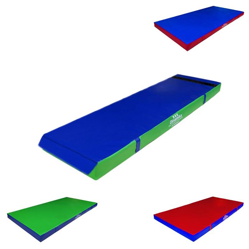 Купить Мат гимнастический 200х50х5см винилискожа-велькро (ппу) Dinamika ZSO-001261,