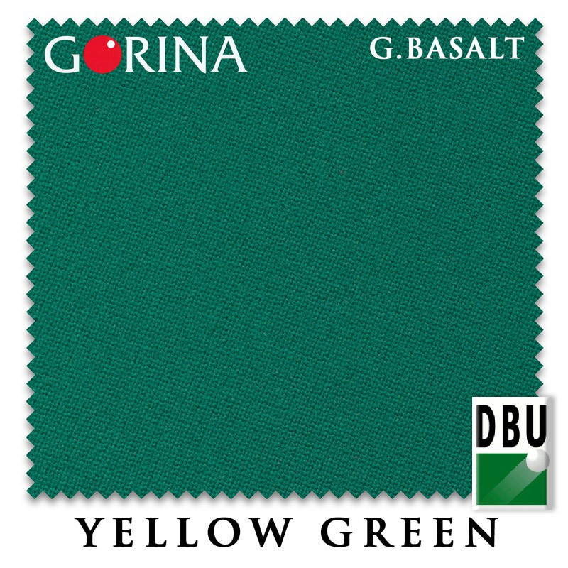 Сукно Gorina Granito Basalt 193cm Yellow Green 60М
