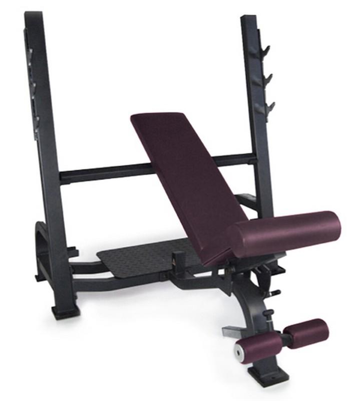 Олимпийская скамья Kraft Fitness с изменяемым углом наклона KF3WB