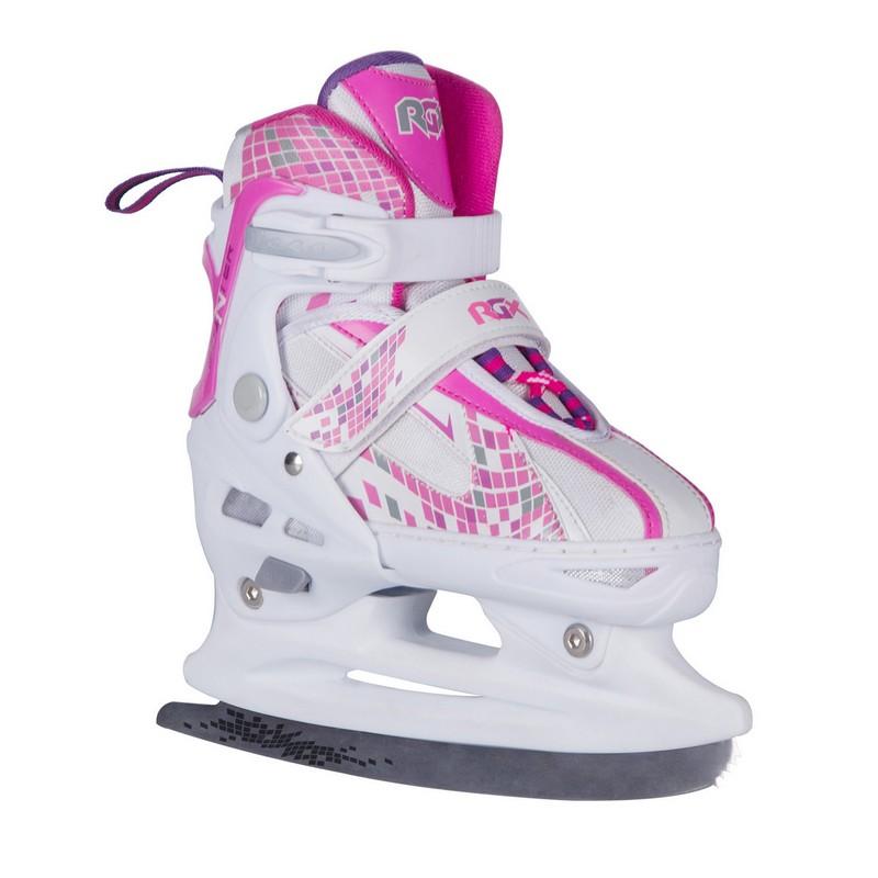 Раздвижные коньки RGX Pointer pink,  - купить со скидкой