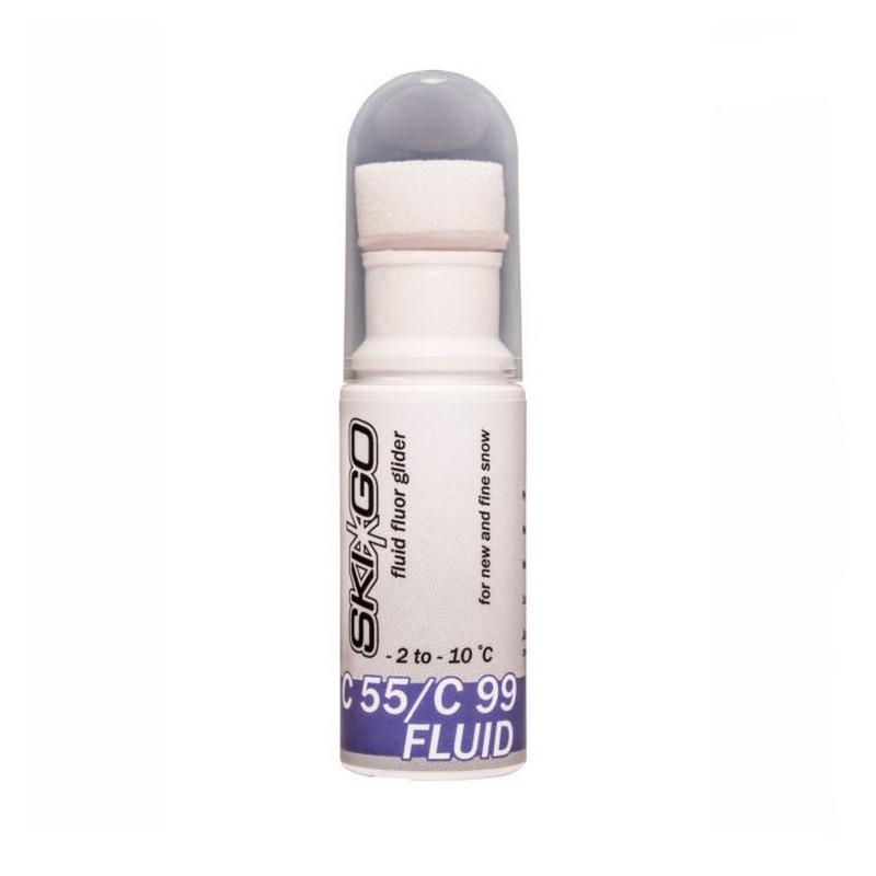 Купить Ускоритель Skigo C55/99 Violet (эмульсия для нового мелкозерн. снега) (-2°С -10°С) 30 ml.,