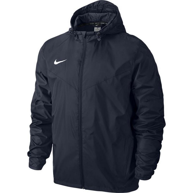 Куртка ветрозащитная Nike Team Sideline Rain Jkt 645908-451 Jr тренировочная форма nike куртка nike team yth s team sideline rain jkt 645908 010