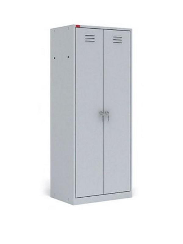 Шкаф металлический модульный разборный 2-секционный для одежды