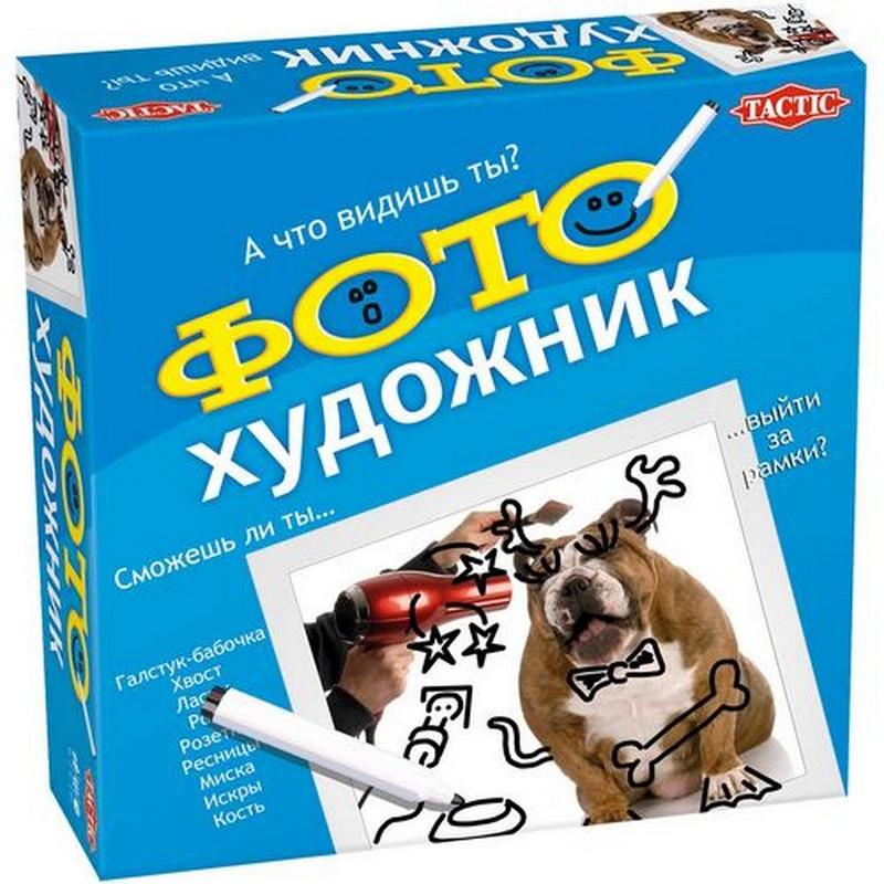 Настольная игра Tactic Games Фото-художник 40534 tactic games настольная игра нарисуй и угадай вечеринка tactic games