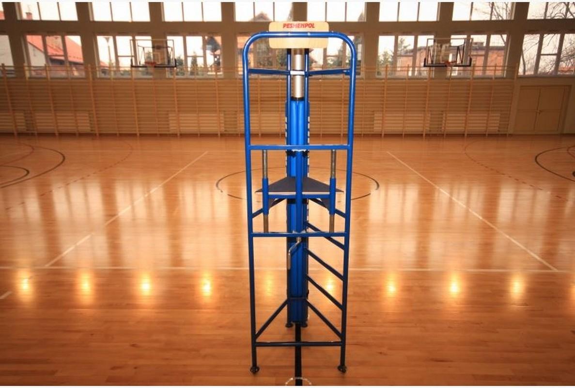 Судейская вышка Pesmenpol волейбольная на роликах (серт. FIVB)