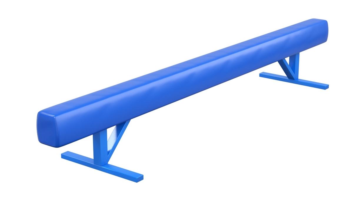 Купить Бревно гимнастическое низкое мягкое L= 4 м Glav 04.10.07-4,