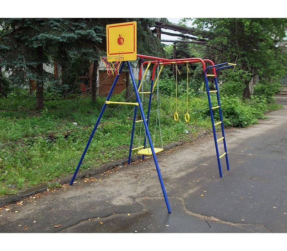 Детский спортивный комплекс Пионер Юла ЦК-2 детский спортивный комплекс пионер дачный юла цк 1529