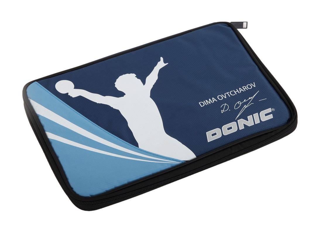 Чехол для ракетки для настольного тенниса Donic Schildkrot Ovtcharov, синий