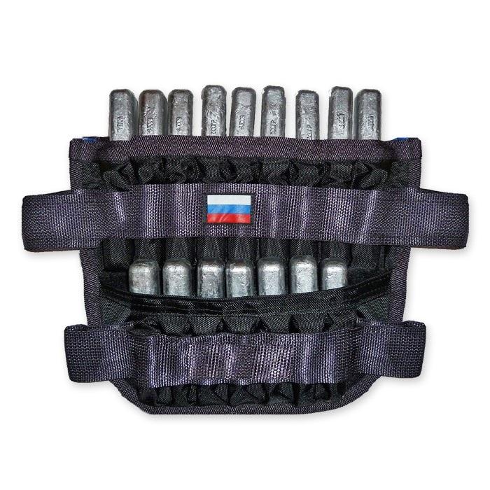 Манжеты-утяжелители для ног 2x24 кг (пара)