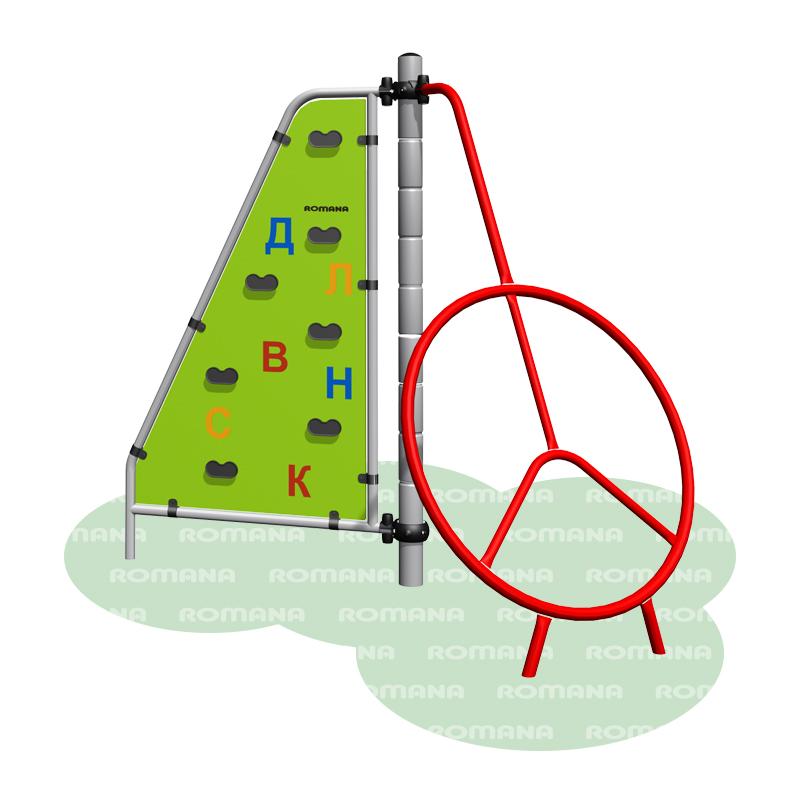 Купить Игровое оборудование Romana Вишенка 401.22.00, Детские спортивные комплексы, площадки